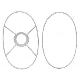 Oval Lampshade Frame Ringset - E14