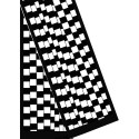 Echarpes en velours dévoré - Blanches à teindre - 180 x 32 cm