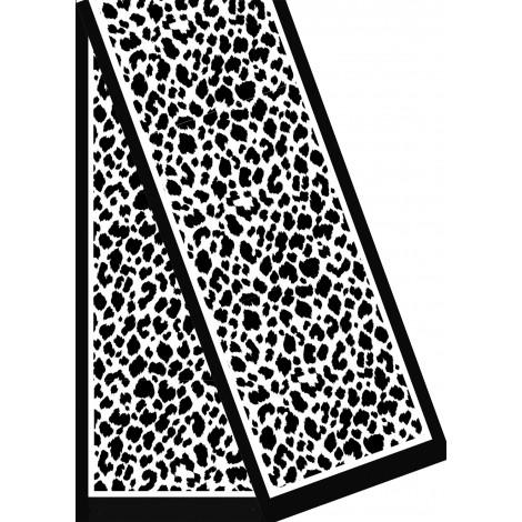 Foulards- écharpes Velours Dévoré - Blanche à teindre - 180 x 32 cm