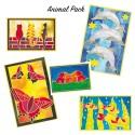 Pre-Gutta Silk Painting Card