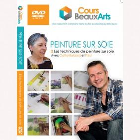 DVD- LES BASES DE LA PEINTURE SUR SOIE
