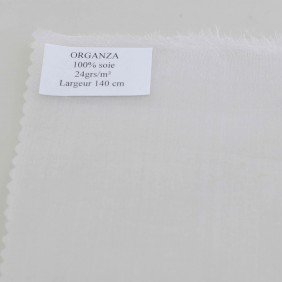 Organza Pure Silk - By The Meter