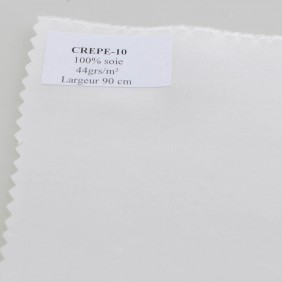Crepe de Chine Pure Silk - By The Meter