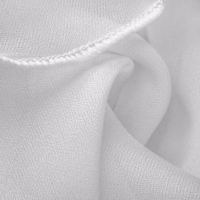 Bourdonnage fil de soie blanc