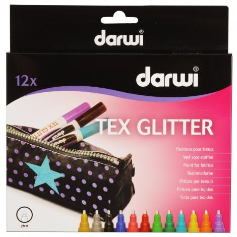 Feutre pour textile GLITTER darwi 2 mm