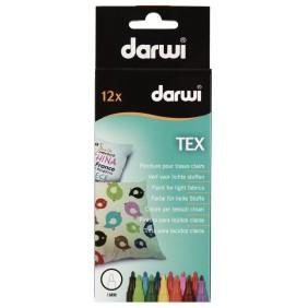 Marqueur textile Darwi Tex (pour tissus clair)