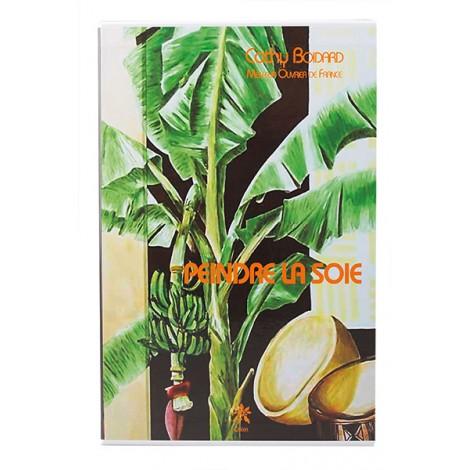 Livre peinture sur soie
