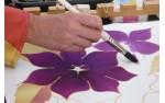 Peinture sur soie et laine étuvable ou thermofixable