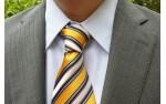 Cravates de soie confectionnées