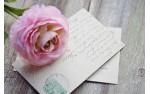 Cartes Postales Pré-sertis Soie