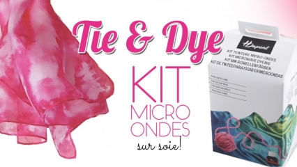Kit micro-ondes H Dupont technique shibori